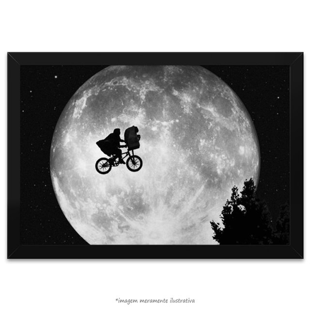 Poster E.T. - O Extraterrestre