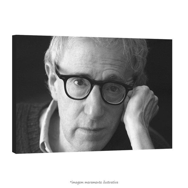 Poster Woody Allen na internet