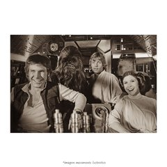 Poster Harrison Ford, Mark Hamill e Carrie Fisher - QueroPosters.com