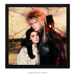 Poster David Bowie e Jennifer Connelly