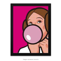 Poster Princesa Leia - Pop Art