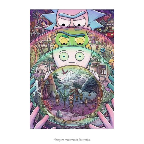 Poster Rick e Morty
