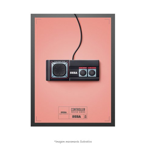 Poster Controle de Games – Master System II