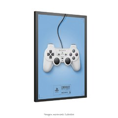 Poster Controle de Games - PlayStation na internet
