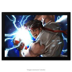 Poster Street Fighter - Ryu
