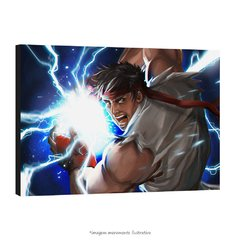 Poster Street Fighter - Ryu na internet