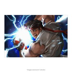 Poster Street Fighter - Ryu - QueroPosters.com