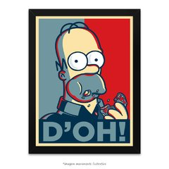 Poster Homer Simpson D'oh