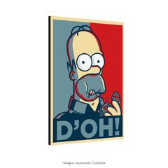 Poster Homer Simpson D'oh na internet