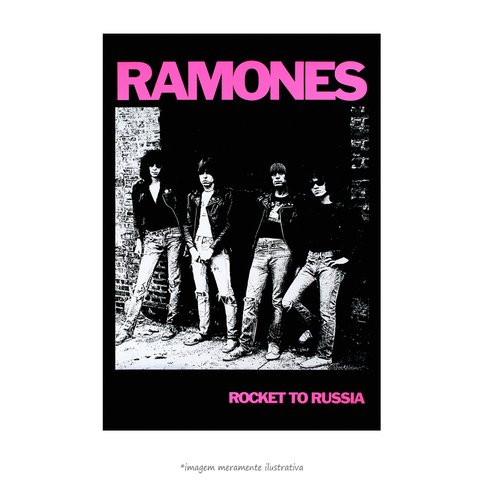 Poster Ramones - Rocket to Russia - QueroPosters.com