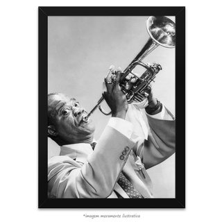 Poster Louis Armstrong - comprar online