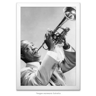 Poster Louis Armstrong na internet