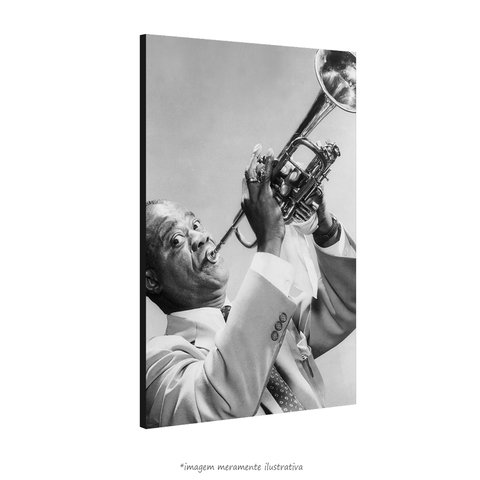 Poster Louis Armstrong - QueroPosters.com