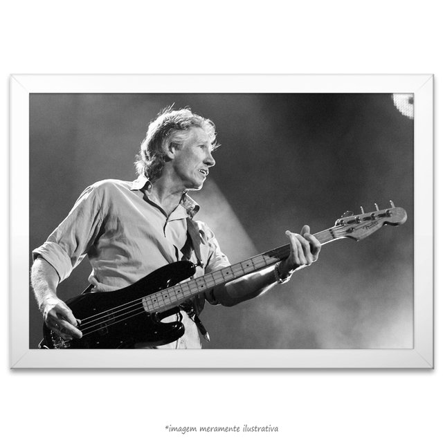 Poster Roger Waters na internet