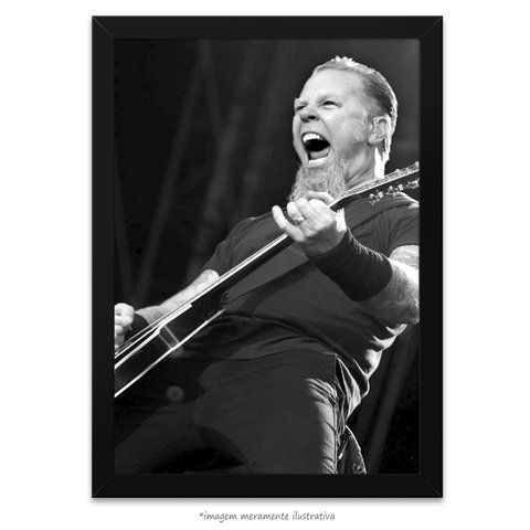 Poster James Hetfield