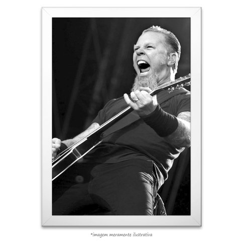 Poster James Hetfield - comprar online