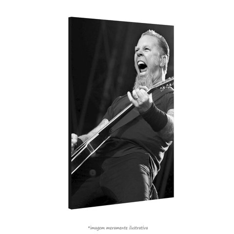 Poster James Hetfield na internet