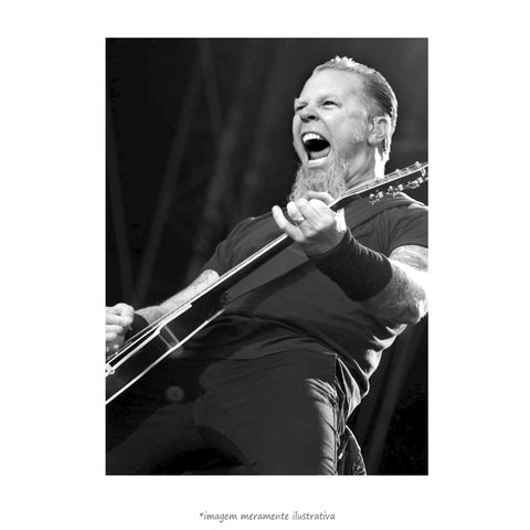 Poster James Hetfield - QueroPosters.com