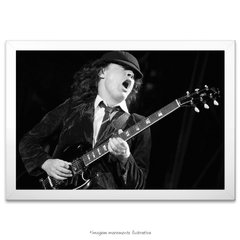 Poster Angus Young - comprar online