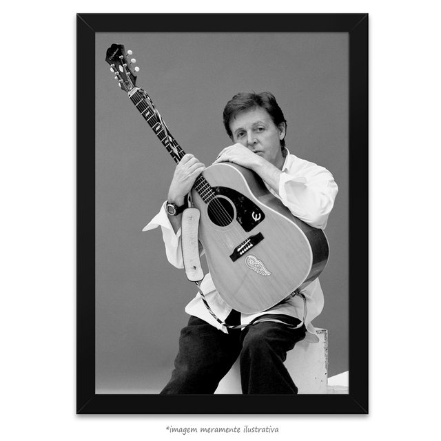 Poster Paul McCartney - comprar online