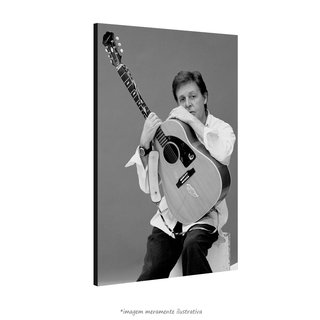 Poster Paul McCartney na internet