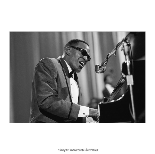 Poster Ray Charles - QueroPosters.com