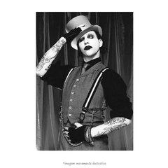 Poster Marilyn Manson - QueroPosters.com