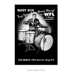 Poster Buddy Rich - QueroPosters.com