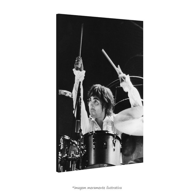 Poster Keith Moon na internet