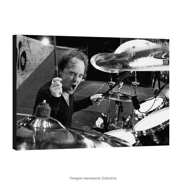 Poster Lars Ulrich - QueroPosters.com