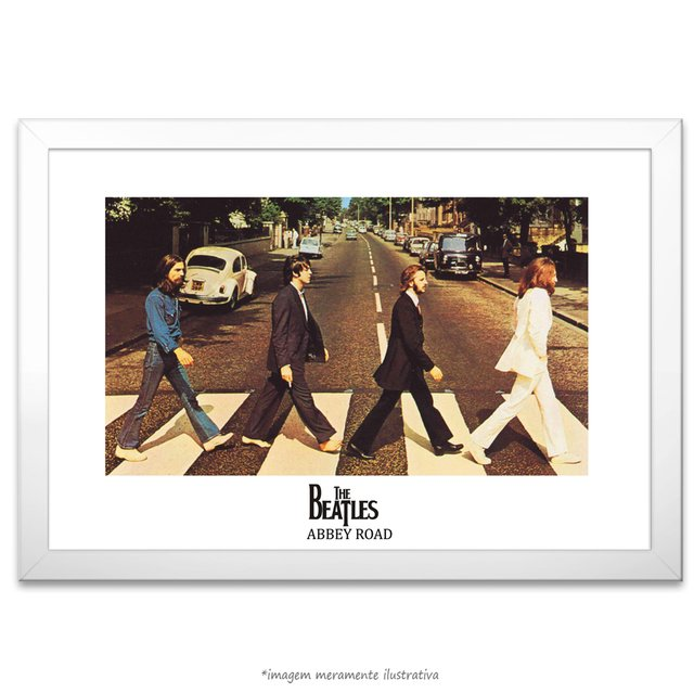 Poster The Beatles - Abbey Road - comprar online