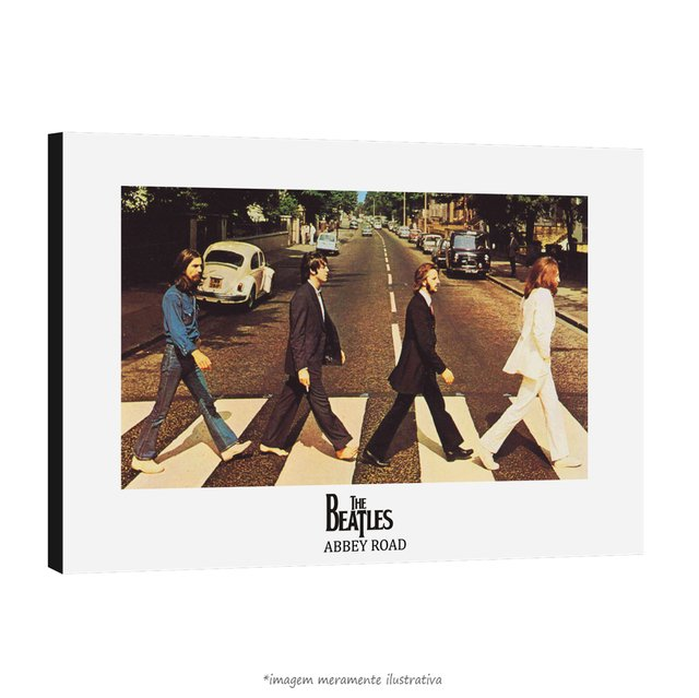 Poster The Beatles - Abbey Road na internet