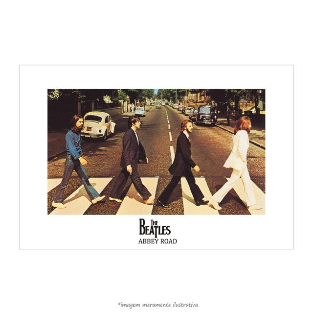 Poster The Beatles - Abbey Road - QueroPosters.com