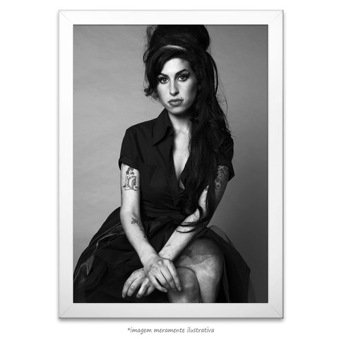 Poster Amy Winehouse - comprar online
