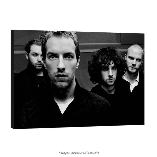 Poster Coldplay na internet