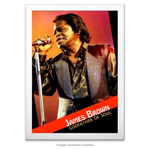Poster James Brown - comprar online