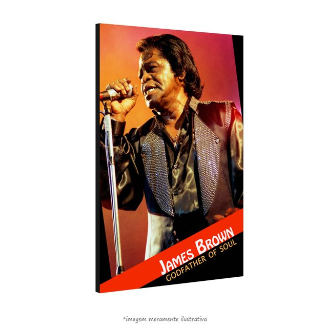 Poster James Brown na internet