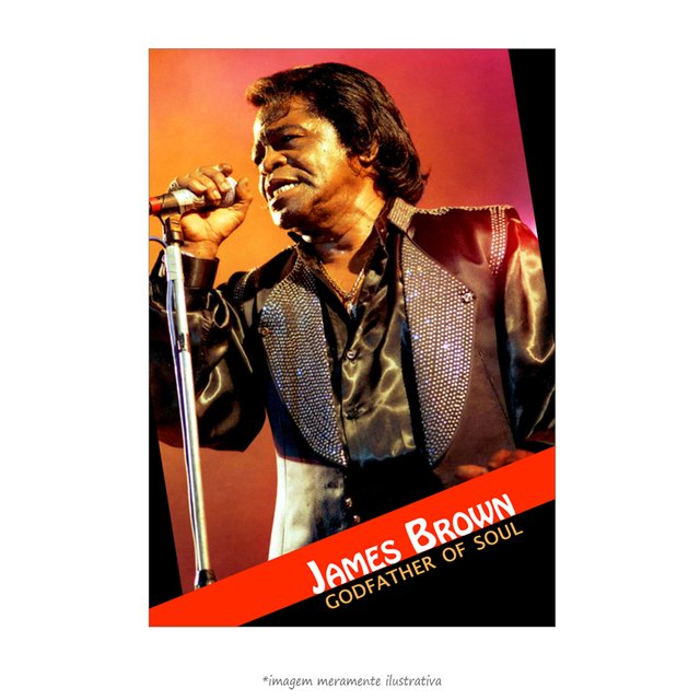 Poster James Brown - QueroPosters.com