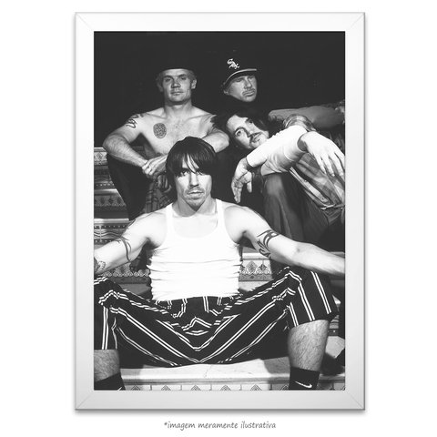 Poster Red Hot Chili Peppers - comprar online