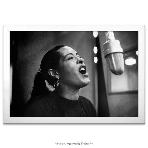 Poster Billie Holiday - comprar online