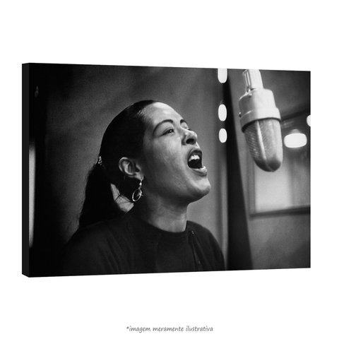 Poster Billie Holiday na internet
