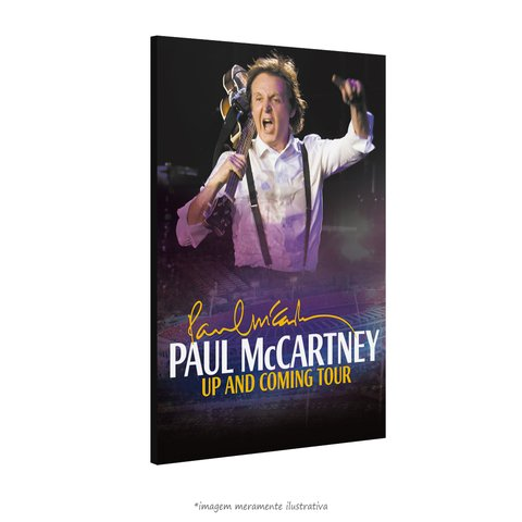 Poster Paul McCartney in Brazil na internet