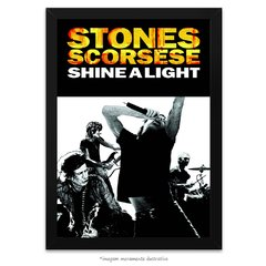 Poster The Rolling Stones - Shine a Light Movie Special