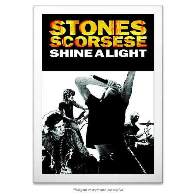 Poster The Rolling Stones - Shine a Light Movie Special - comprar online