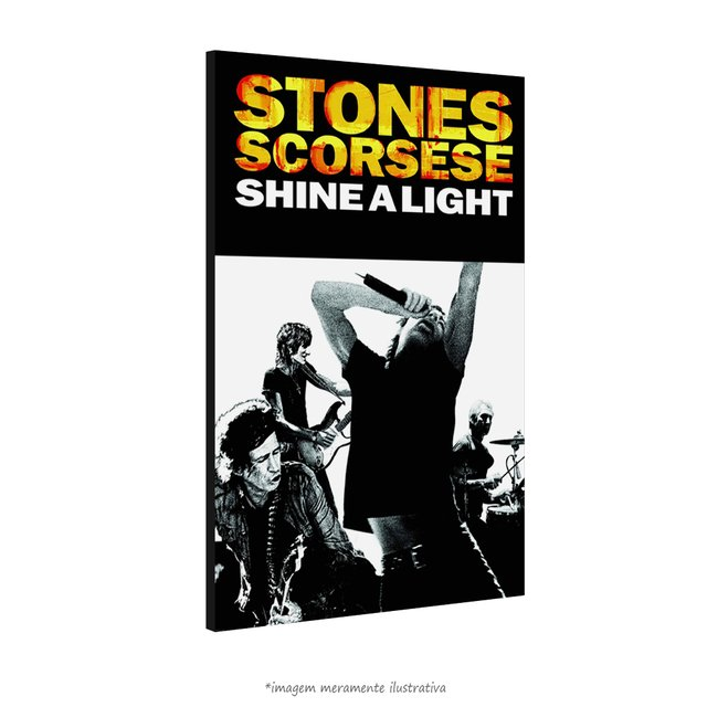 Poster The Rolling Stones - Shine a Light Movie Special na internet