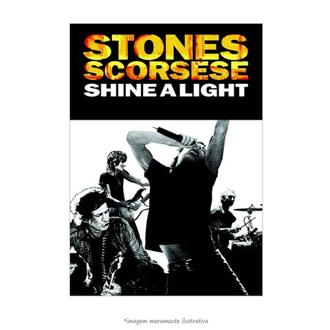 Poster The Rolling Stones - Shine a Light Movie Special - QueroPosters.com