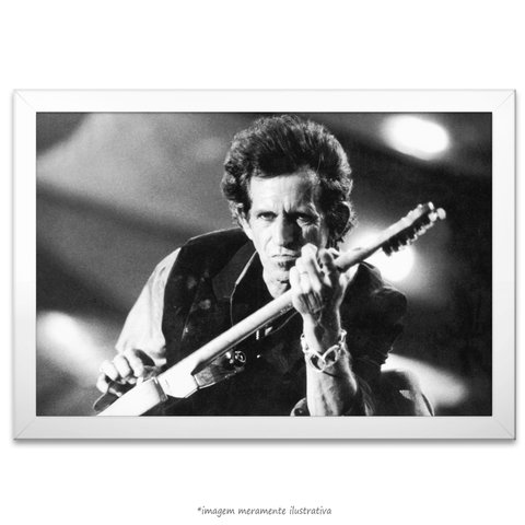 Poster Keith Richards - comprar online