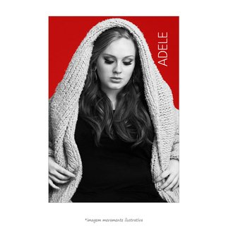 Poster Adele - QueroPosters.com