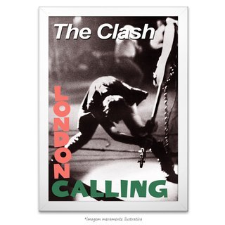 Poster The Clash - London Calling - comprar online