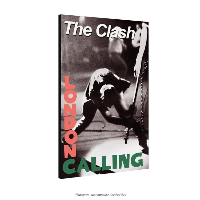 Poster The Clash - London Calling na internet